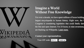 SOPA Blackout Wikipedia