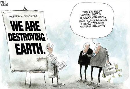 climate change deniers