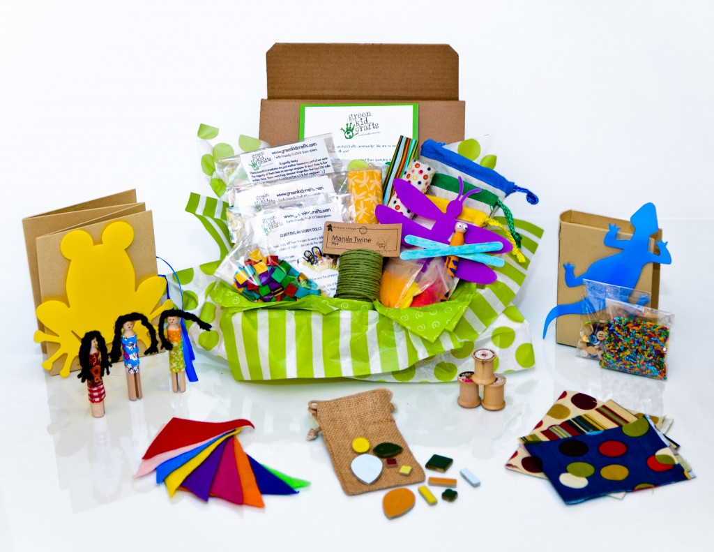 Enjoy Eco Friendly Crafting This Summer With Green Kids