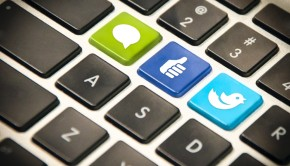 Social Icons Keyboard