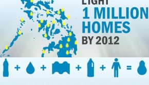 A liter of Light Campaign to a million lighted Homes in 2012