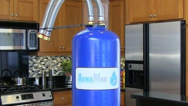 Akwamag water softening