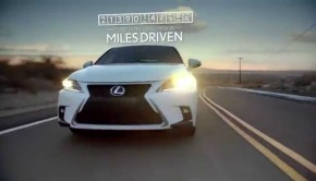 Electric Cars Hold You Back, Claims Lexus Hybrid Ad