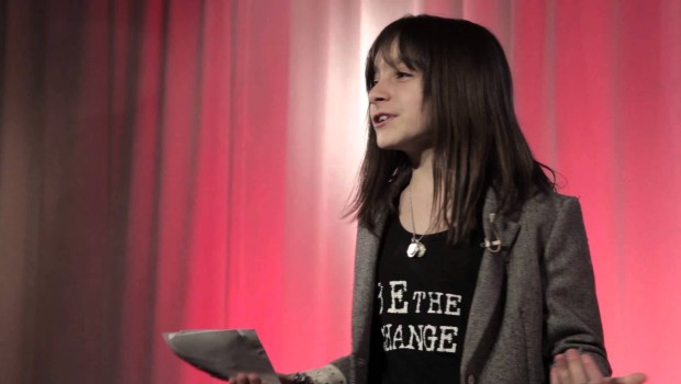 This 10-year old blogger and changemaker shows how to find your spark