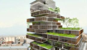 Net Zero Mercedes-Benz Office Building Concept