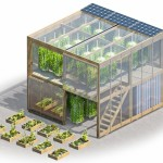 Human Habitat hydroponic garden